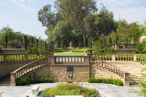 Greystone Mansion gardens
