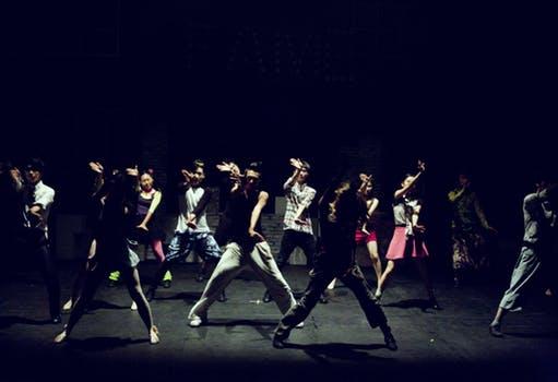 Dancing gives you energy