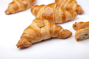 Fresh croissants are the best at Chaumont`s.