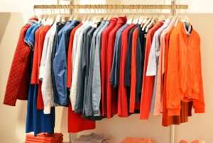 Pack your clothes with hangers when you are packing in a hurry.