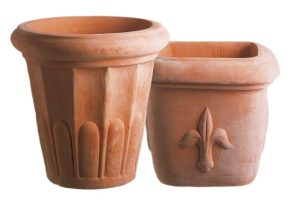 Terracotta pots that are good for building a grill in Beverly Hills