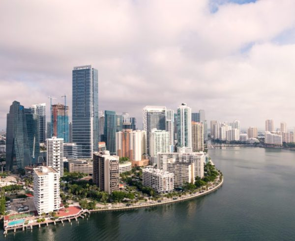 View of Miami to see if you opt for Florida vs California.