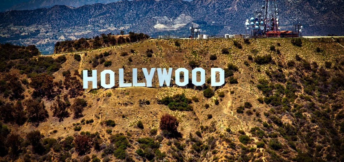 sign of Hollywood in LA