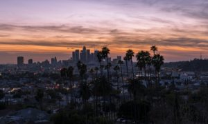 Los Angeles as one of the best honeymoon destinations in California
