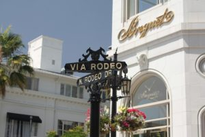 Sign in Beverly Hills.