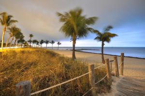 The beach to illustrate places to consider when moving to Florida
