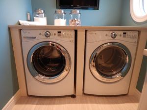 laundry room set after you move washer & dryer