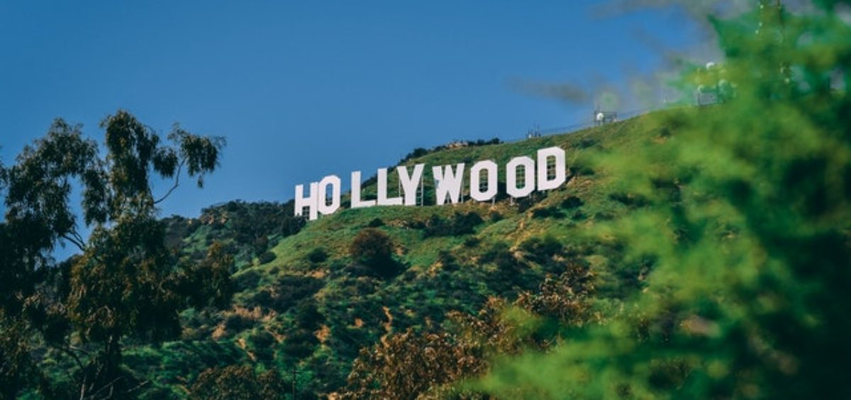 The Hollywood sign, as Hollywood is one of the best places to retire in Los Angeles area.