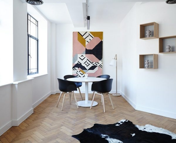 A room with a few ideas about how to improve your living space.