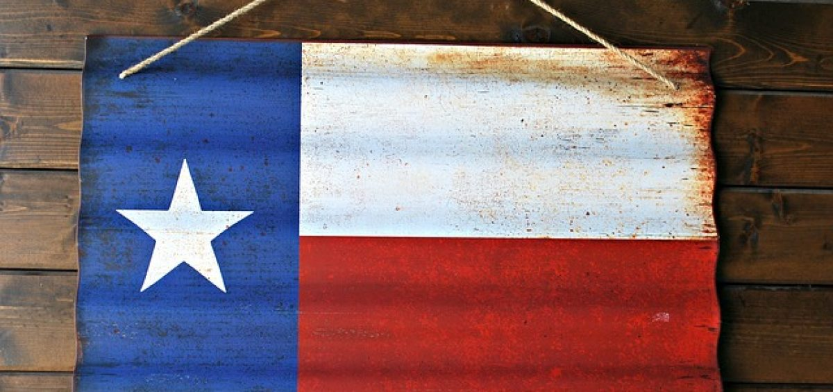 Texas Flag - What to expect when moving from California to Texas