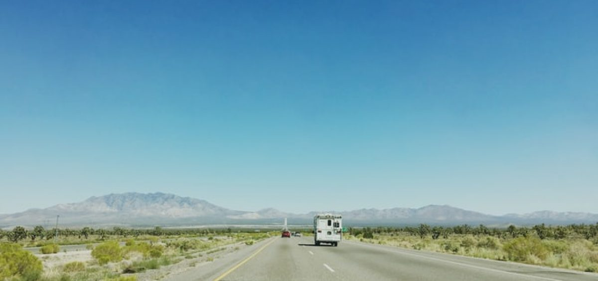 A road leading to Nevada.