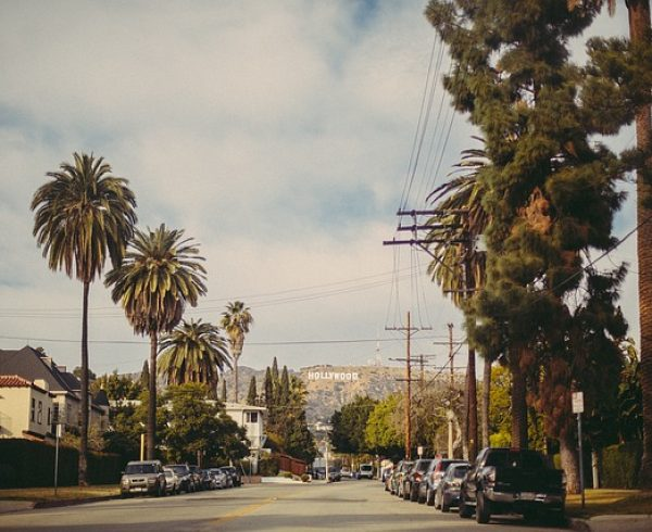 A street in Los Angeles one can enjoy after a family relocation from Denver to LA.