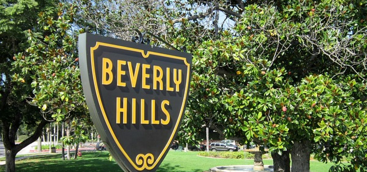 Beverly Hills sign - There are plenty of things you should have in mind when you start planning on leaving Houston for Beverly Hills.