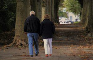 Elderly couple.