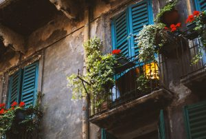 flowers on balcony as one of the home improvements you need to do