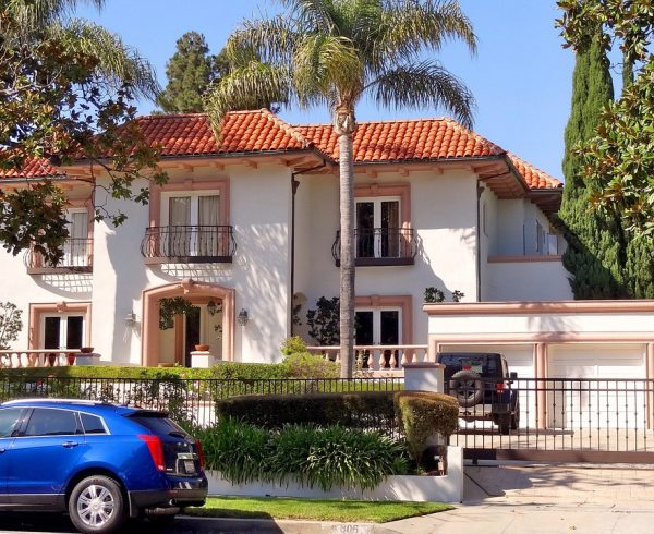 A house in Beverly Hills