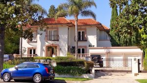 A house in Beverly Hills.