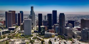 The view of Los Angeles, one of the best cities in California for Hong Kong ex-pats.