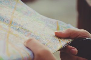 Map - Pick the right place when moving your business from California for Washington State.