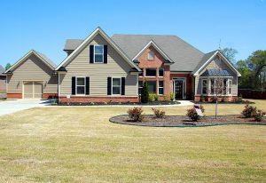 A house on sale.